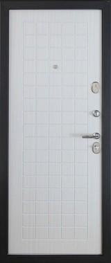 Дверь Форт 91, 92 Черный муар  Белый ясень