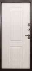 Дверь Форт Термо Т-103 Античная медь Белый ясень