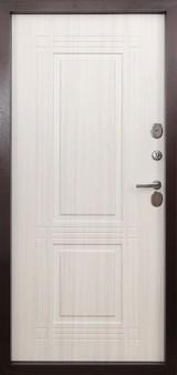 Дверь Форт Термо Т-102, 103 Античная медь  Белый ясень