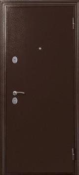Дверь Меги ДС-531 Античная медь  Миланский орех