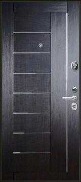Дверь FalKO Конструктор М-9 Черный шелк  Венге кантри Элеганс №17
