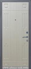 Дверь Алмаз Гранат Античная медь  Ясень №147