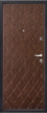 Дверь Алмаз Кварц 11 (закрывание без ключа) Шелк бордо  Бордовый глянец №98