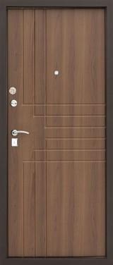 Дверь Алмаз H Черный шелк / Бежевый металлик H-7 Дуб антик №87
