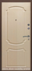 Дверь Алмаз Рубин Черный шелк  Беленый дуб №7