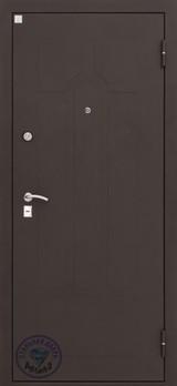Дверь Алмаз Опал 2 Черный шелк  Венге №5
