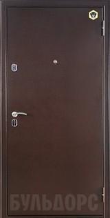 Дверь Бульдорс 13 Античная медь  Шамбори светлый М-3