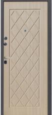 Дверь Алмаз Алмаз Черный крокодил  Беленый дуб №28