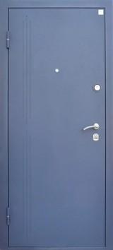 Дверь Алмаз Малахит Синий металлик  Итальянский орех №64