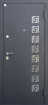 Дверь Алмаз Аметист Черный шелк  Венге №97
