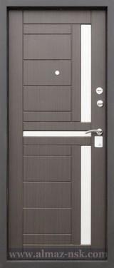 Дверь Алмаз Талисман Черный шелк  Венге S-4