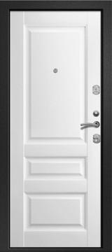 Дверь Ретвизан Ника 121 Черный сатин  Софт айс 191А