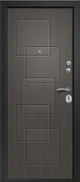 Дверь Ретвизан Аризона 225 Черный сатин  Графит