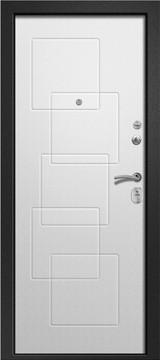 Дверь Ретвизан Аризона 225 Черный сатин  Шенилл белый