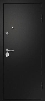 Дверь Ретвизан Аризона 222 с зеркалом Черный сатин  Венге