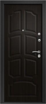 Дверь Ретвизан Аризона 230 Черный сатин 10 квадратов Венге