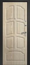 Дверь Ретвизан Аризона 230 Черный сатин 10 квадратов Дуб беленый