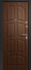 Дверь Ретвизан Аризона 230 Черный сатин 10 квадратов Орех таволато