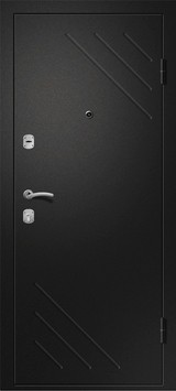 Дверь Ретвизан Медея 300 Черный сатин  Супермат капучино №183