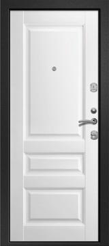 Дверь Ретвизан Медея 300 Черный сатин  Софт айс