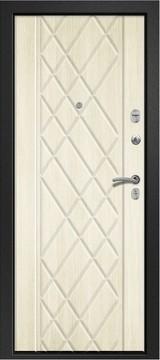 Дверь Ретвизан Медея 311 Черный сатин  Бодега рубин №161