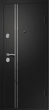 Дверь Ретвизан Медея 321 Черный сатин М1 Ясень снежный 220