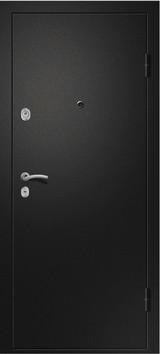 Дверь Ретвизан Медея 321 Черный сатин  Венге (эко) 109Z стекло черное