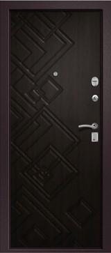 Дверь Ретвизан Медея 330 Коричневый сатин  Венге
