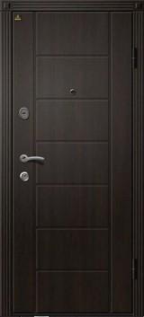 Дверь Ретвизан Орфей 2 Венге лайн Хай-тек  Венге лайн S-11