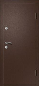 Дверь Ретвизан Триера 2 (Termo) Античная медь  Беленый дуб
