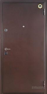 Дверь Бульдорс 14 Античная медь  Орех грецкий В-6