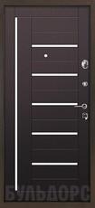 Дверь Бульдорс 14 Античная медь  Венге М-2