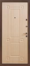 Дверь Бульдорс 14 Античная медь  Светлый венге В-5