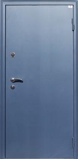 Дверь Город мастеров Катюша с царговым щитом Синий сатин  Лиственница Лакобель черный