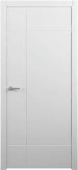 Дверь Albero Геометрия Альфа Белый Винил