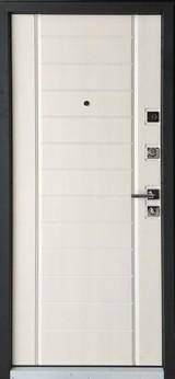 Дверь Mastino Terra Черный шелк D-4 Шамбори светлый MS-9
