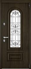 Дверь Torex Snegir Cottage Черное дерево SNG-2M