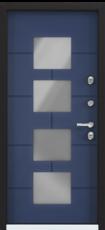 Дверь Torex Snegir Cottage Синий сапфир (ЛКП) SNG-5