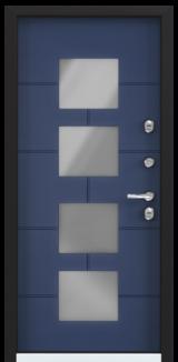 Дверь Torex Snegir Cottage Синий сапфир (ЛКП) SNG-5 Синий сапфир (ЛКП) SNG-5