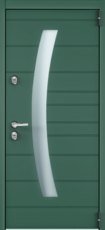 Дверь Torex Snegir Cottage Зеленый изумруд (ЛКП) SNG-4