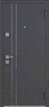 Дверь Mastino Terra Черный шелк D-5 Белый софт MS-33