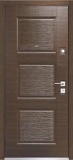 Дверь Mastino Monte Темный венге горизонт LN-3