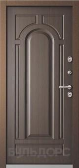 Дверь Бульдорс Termo-1 Букле шоколад  Венге TB-1