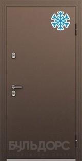 Дверь Бульдорс Termo-2 Античная медь  Перламутр белый TB-12
