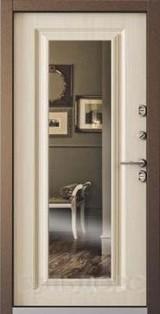 Дверь Бульдорс Termo-2 Античная медь  Перламутр белый TB-82