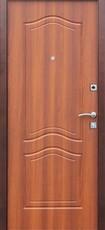 Дверь Цитадель Доминанта Античная медь  Рустикальный дуб