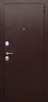 Дверь Цитадель Гарда 8мм Античная медь  Венге