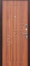 Дверь Цитадель Гарда 8мм Античная медь  Рустикальный дуб