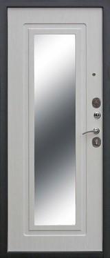 Дверь Цитадель Царское зеркало Муар  Белый ясень