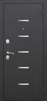 Дверь Цитадель 7,5см Гарда муар Черный муар  Кипарис царга